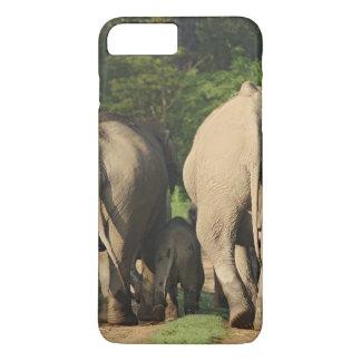 Éléphants d'Asie sur la voie de jungle, Corbett Coque iPhone 7 Plus