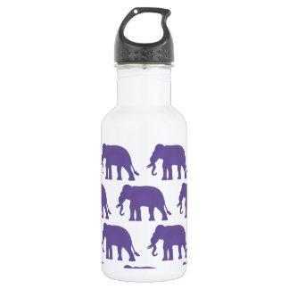 Éléphants pourpres bouteille d'eau