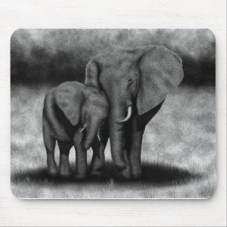 Éléphants Tapis De Souris