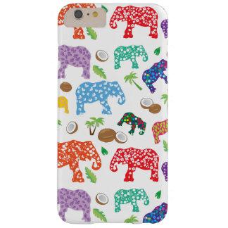 Éléphants tropicaux coque barely there iPhone 6 plus