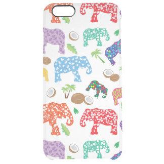 Éléphants tropicaux coque iPhone 6 plus