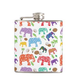 Éléphants tropicaux flasques