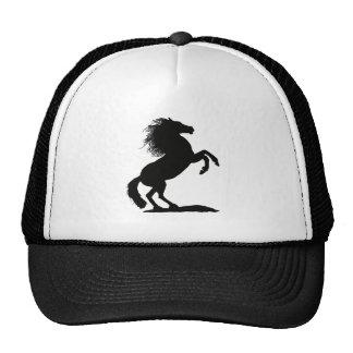 Élevant l'étalon noir - casquettes de camionneur