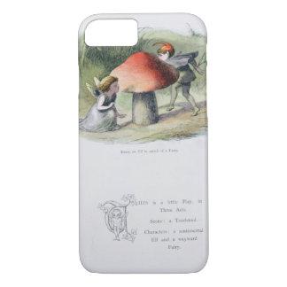 Elf à la recherche d'une fée, illustration de coque iPhone 7
