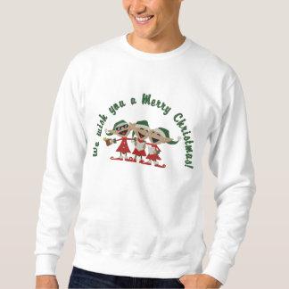 Elfes chanteurs de Noël Sweatshirt