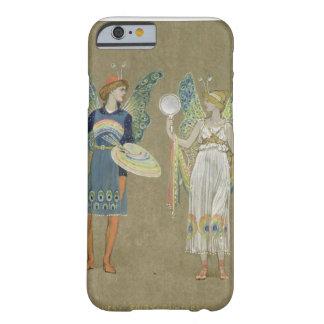 """Elfes et peintres féeriques, """"du bonhomme de coque barely there iPhone 6"""