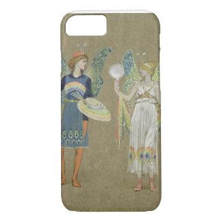 """Elfes et peintres féeriques, """"du bonhomme de coque iPhone 7"""