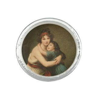 Elisabeth avec sa fille 1780-1819 bagues