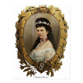 Elisabeth de carte postale de la Bavière