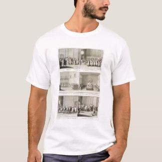 """Élisant le pape, de la """"encyclopédie"""" par Deni T-shirt"""