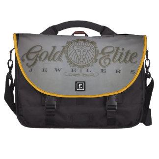 Élite d'or, sac messenger à ordinateur portable de sacs ordinateurs portables