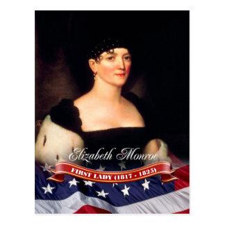 Elizabeth Monroe, première Madame des États-Unis Cartes Postales