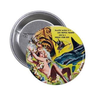 Elle dieux du bouton 2 (fille une) de film de Reff Badge Rond 5 Cm