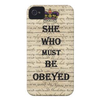 Elle qui doit être obéie coques Case-Mate iPhone 4