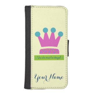 Elle qui doit être obéie coque avec portefeuille pour iPhone 5