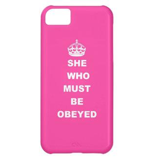Elle qui doit être obéie coque iPhone 5C