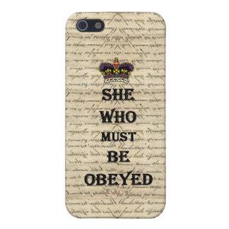Elle qui doit être obéie coques iPhone 5