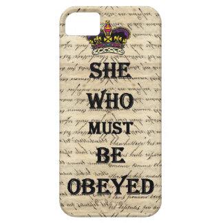 Elle qui doit être obéie coques iPhone 5 Case-Mate