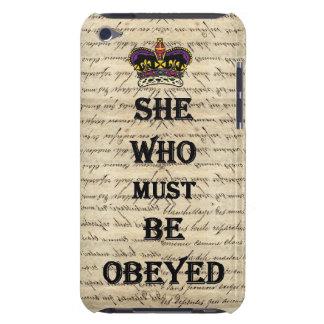 Elle qui doit être obéie coques iPod Case-Mate