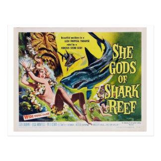 Elle un dieu de la carte postale vintage 2 de film