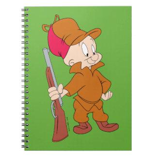 ELMER FUDD™   avec l'arme à feu Carnet