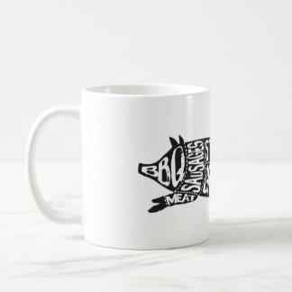 Éloge vintage le porc drôle de saindoux mug