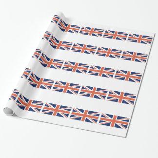 Emballage britannique d'Union Jack de drapeau du Papiers Cadeaux