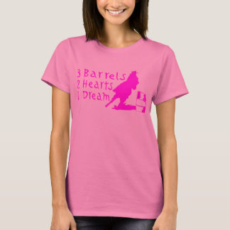 EMBALLAGE DE BARIL DE FILLE T-SHIRT