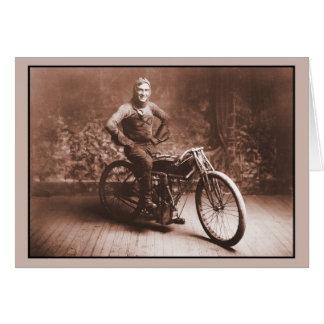 Emballage de moto : Gagnant 100 MI. course, Norton Cartes De Vœux