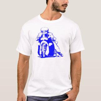 Emballage d'entrave de moto t-shirt