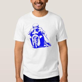 Emballage d'entrave de moto t-shirts