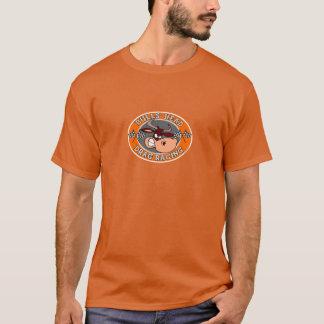 Emballage d'entrave de tête de taureaux t-shirt