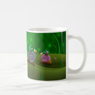 Emballage d'escargot mug