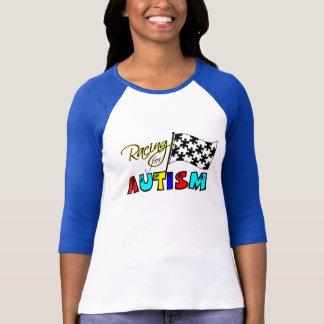 Emballage pour l'autisme - pièce en t de dames t-shirt