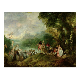 Embarquement pour Cythera, 1717 Carte Postale