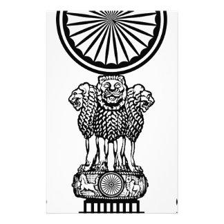 Emblem_of_the_Supreme_Court_of_India Papier À Lettre Customisé