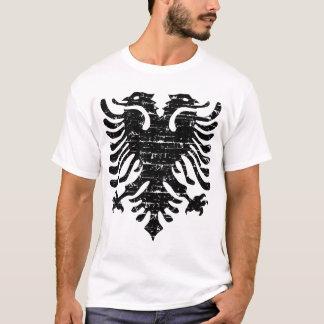 Emblème albanais d'aigle t-shirt