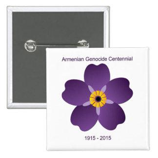 Emblème arménien de Centennial de génocide Badges