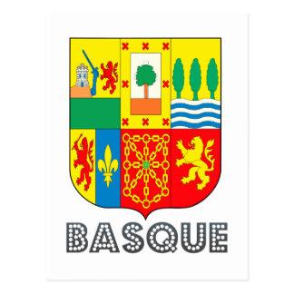 Emblème de Basquan Carte Postale