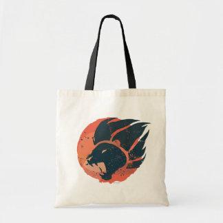 Emblème de garde de lion sac