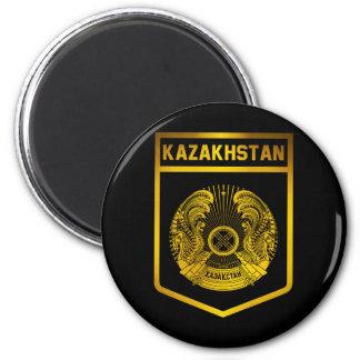 Emblème de Kazakhstan Magnet Rond 8 Cm