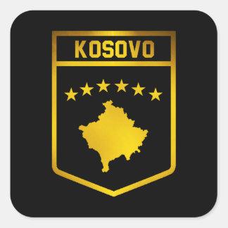 Emblème de Kosovo Sticker Carré