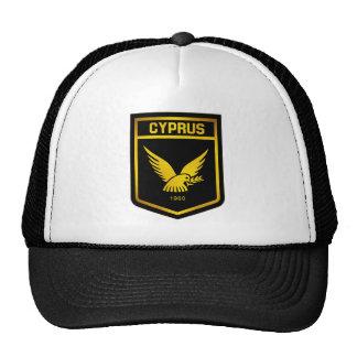 Emblème de la Chypre Casquette De Camionneur