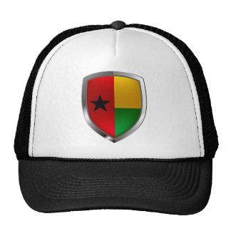 Emblème de la Guinée-Bissau Mettalic Casquette De Camionneur