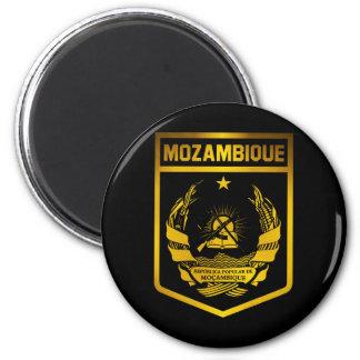 Emblème de la Mozambique Magnet Rond 8 Cm