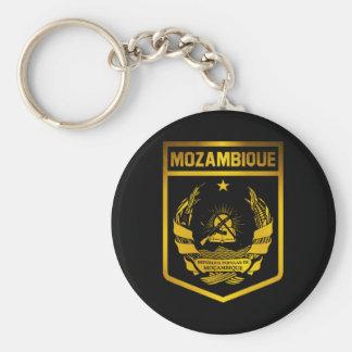 Emblème de la Mozambique Porte-clé Rond