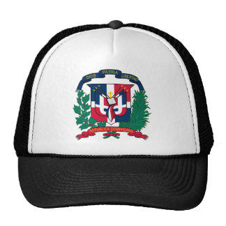 emblème de la République Dominicaine Casquette