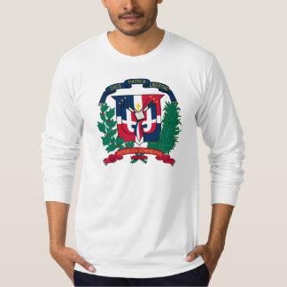 emblème de la République Dominicaine T-shirts