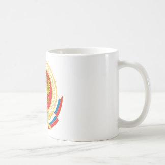 Emblème de la sécurité du président russe mug