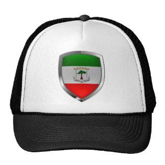 Emblème de Mettalic de Guinée équatoriale Casquettes De Camionneur